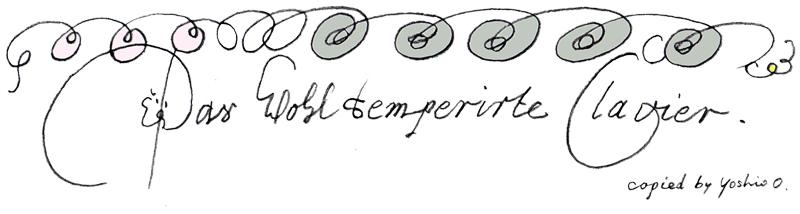 WTC表紙の渦巻き模様模写